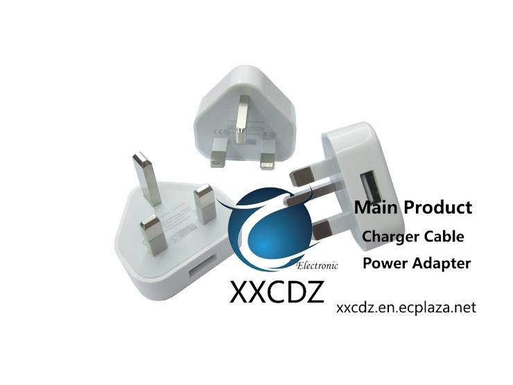 UK IPhone USB Power Adapter Supply USB Charger 5V1A Singapore Malaysia