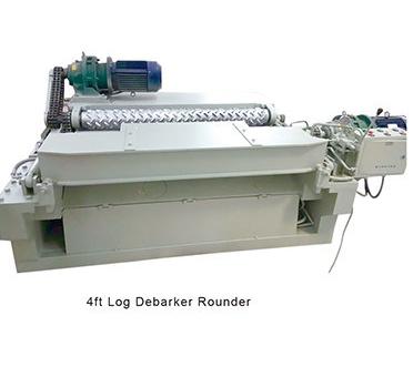 CNC wood log rounder 4ft debarker machine