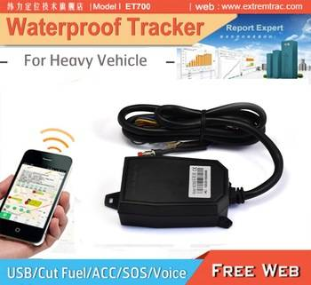Waterproof GPS car tracker GPS Boat Tracker/ IP66 IP67/ACC/SOS/Voice/Fuel Cut