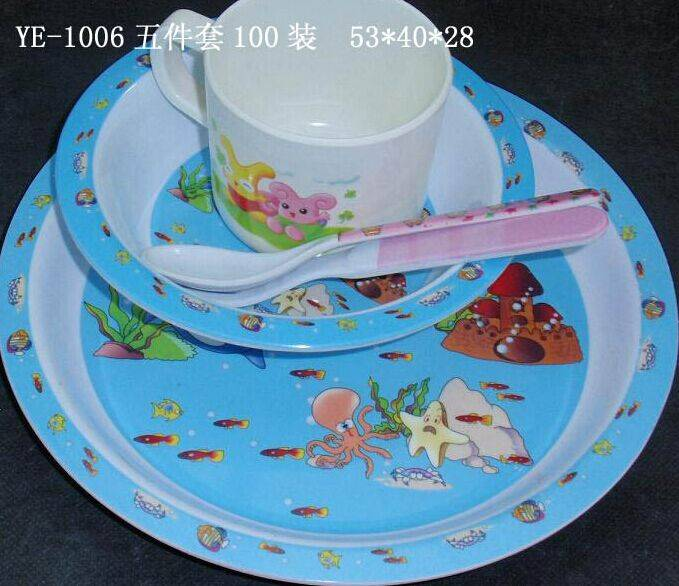 melamine plate sets for kinds various of type for you option