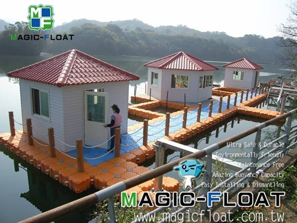 MF-Floating Buildings on Water in Taiwan