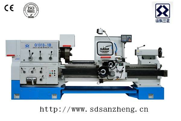 Pipe thread lathe