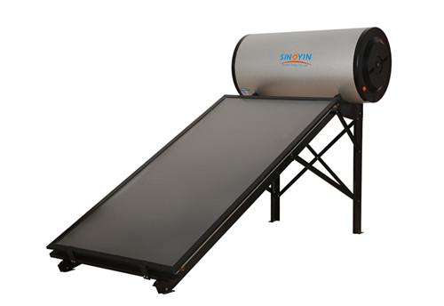 Flat Panel High Pressure Blue Sputtering Absorber Solar Collector