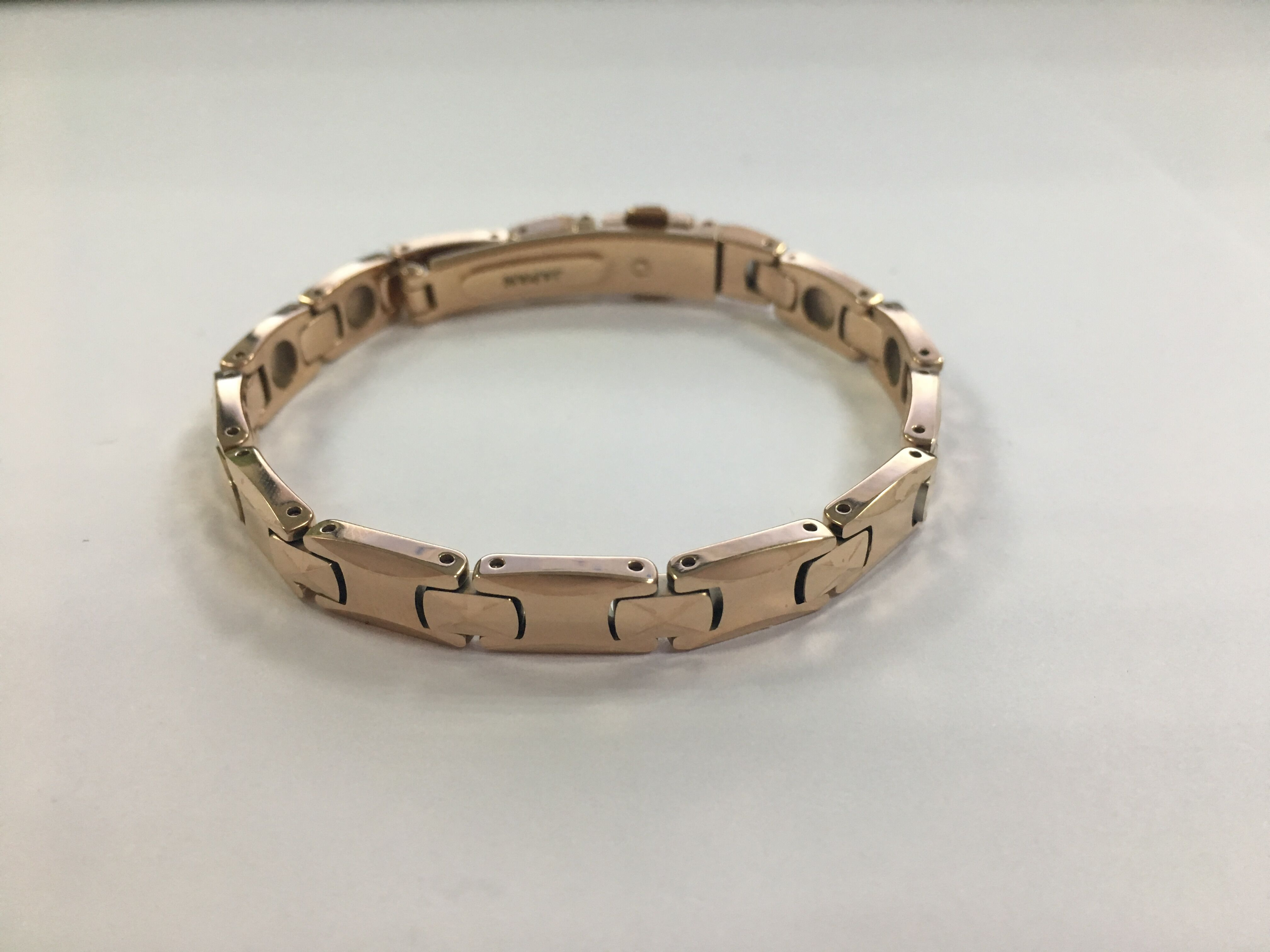 Health Titanium Rose Gold 99.999% Germanium Energy Bracelet Japan