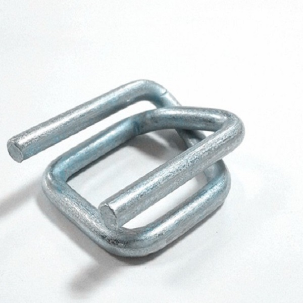 Galvanized wire buckles for strapping 13mm to 32mm