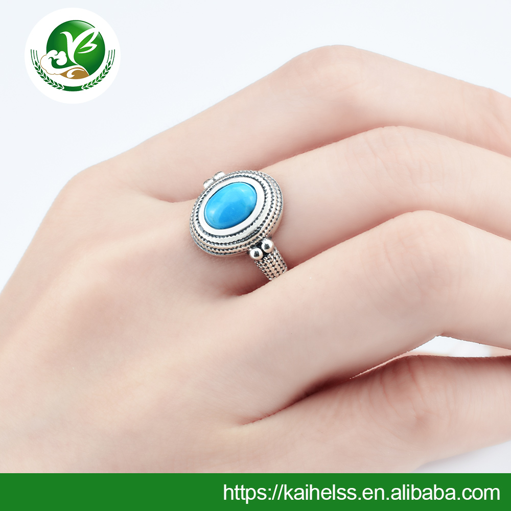 Silver Jewelry Main Material and Men's Gender 925 Sterling Silver Ring