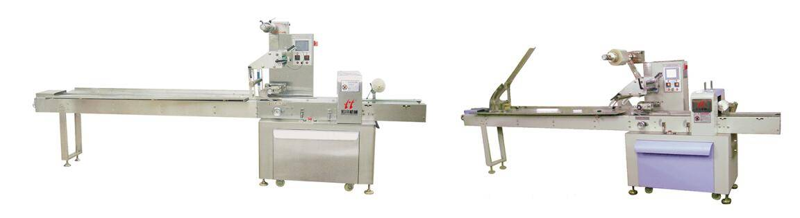 Automatic food flow packing machine