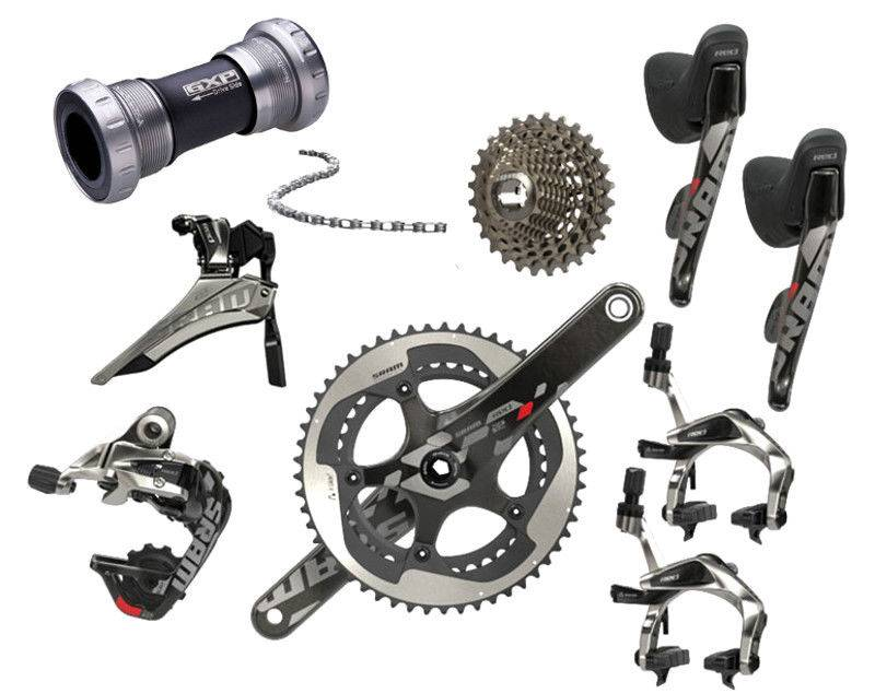 2014 SRAM RED 22 5034 11 SPEED 172.5MM GROUPSET (BB ENGITALIA)