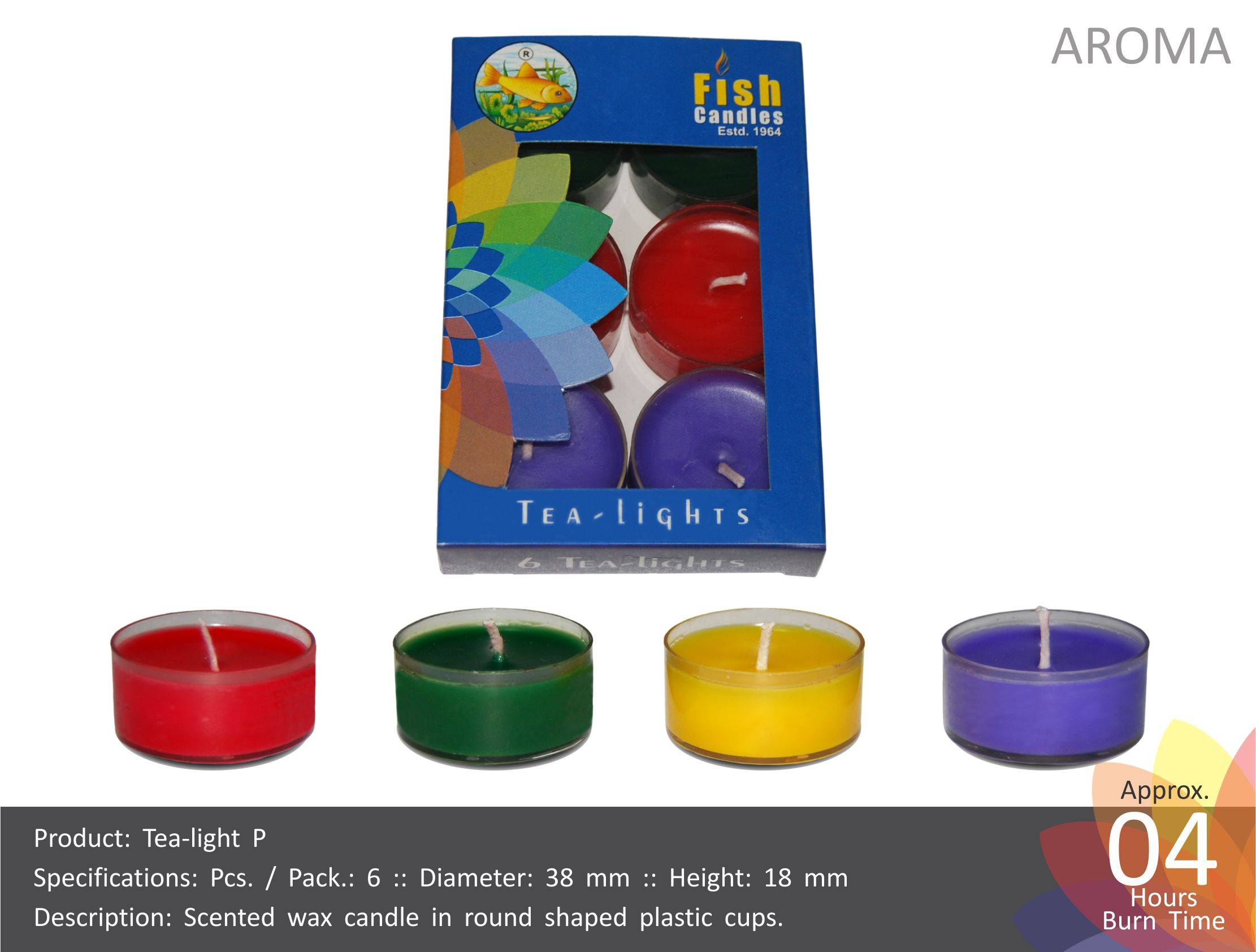 Tea Light Candles (P)