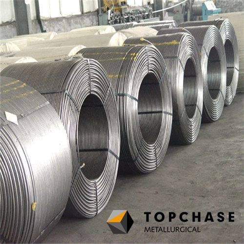 Alloy Cored Wires of all types for Steel-making (FeCa,CaSi,BaSi,FeMn,SiAlBaCa...)