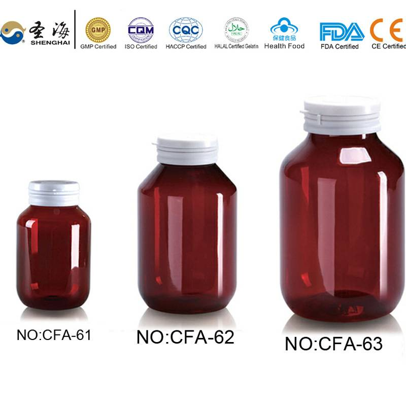 175ml 250ml 300ml Factory Direct Sale Empty Plastic Bottle for Medicine