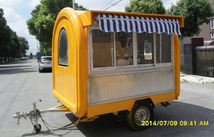 Food Truck/Mobile Food Carts/Food Van Caravan Vending machine Chinese food truck