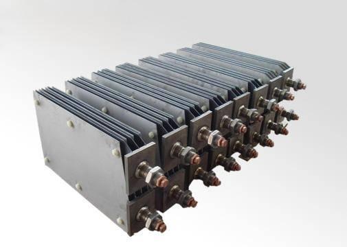 DSA titanium anode for hypochlorite generator