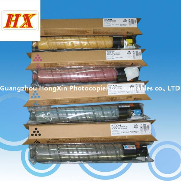 MPC3300 color toner cartridge for ricoh aficio C2800/C3300 (1SET CMYK )