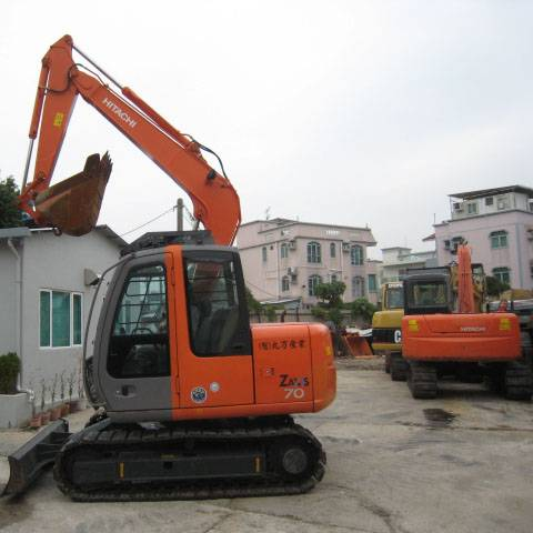 Used Hitachi ZX70 Crawler Excavator