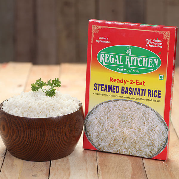 Ready To Eat Steamed Basmati Rice