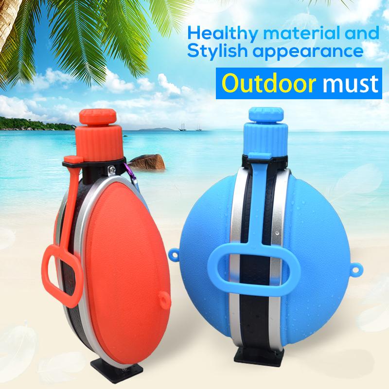 2017 fashion silicone bpa free water bottle logo