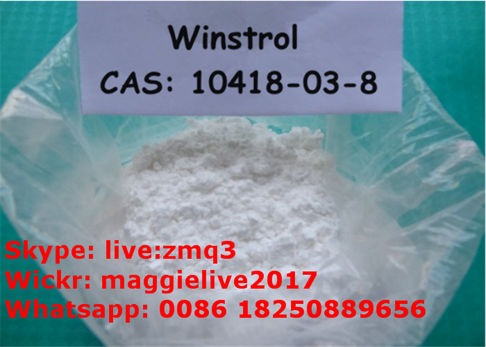 Safety Oral Anabolic Steroids Powder Winstrol Stanozolol 10418-03-8
