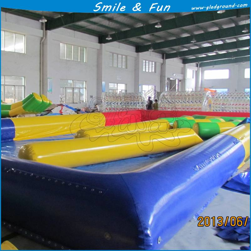 Inflatable fencing with PVC 0.6mm with CE for sale