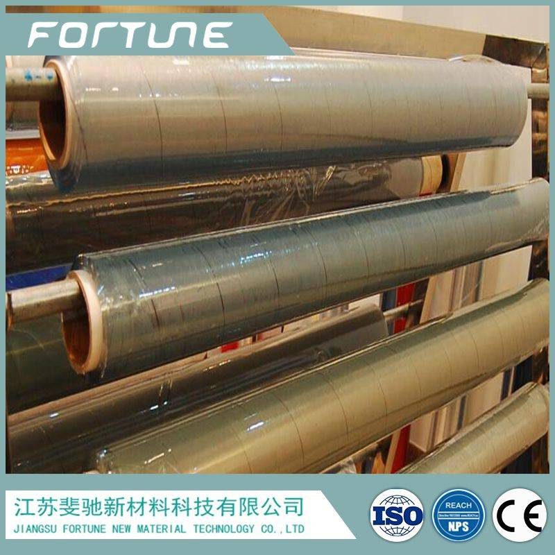 super clear pvc film for packing in rolls for free sample