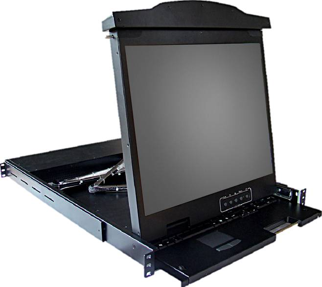 DVI LCD Console Drawers