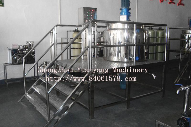 high shear emulsifying machine-shampoo making machine