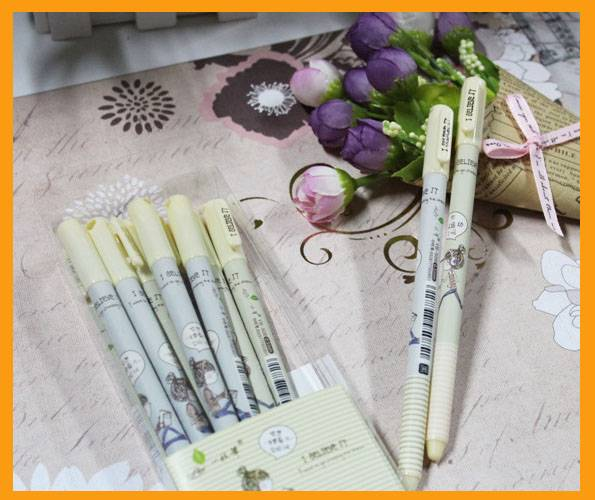 New 0.5mm high quality Gel Pen plastic Ball Pen