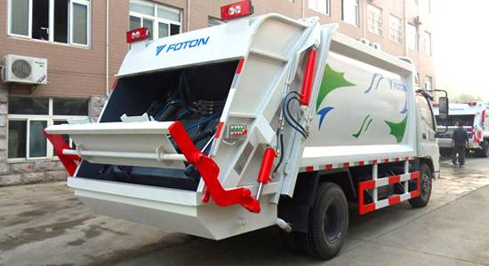 6m3 Compactor Garbage Truck/ Garbage Compactor