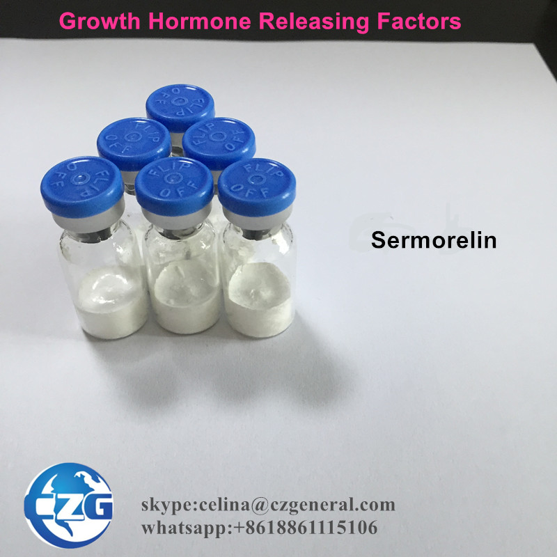 99% Ghrh Peptide Rleasing Hormone Polypeptide Sermorelin 2mg