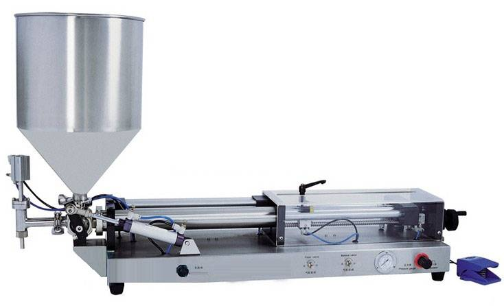 Semi-auto cream/paste filling machine