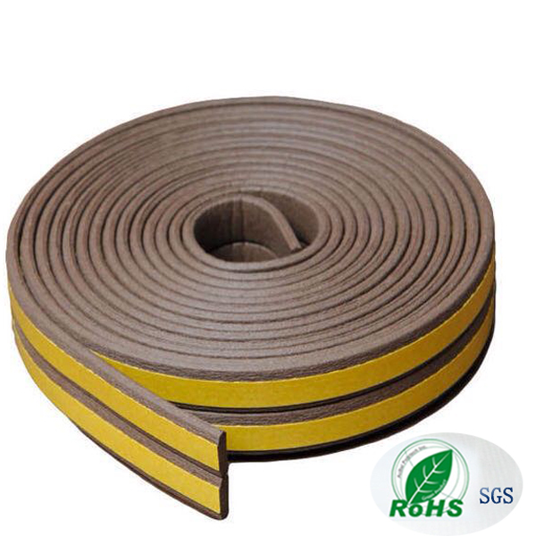 Self Adhesive EPDM Foam Rubber Window And Garage Door Seal Weather Stripping I0902