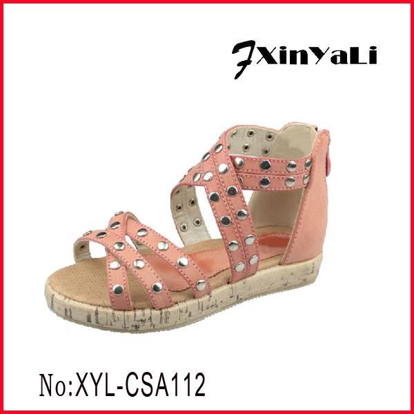 2015 New style sandal for girls
