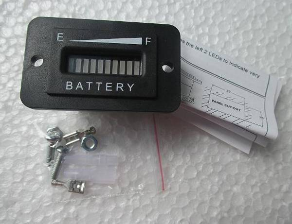 RL-BI003 Battery Discharge Indicator Charge Indicator 12V 24V 36V 48V 72V