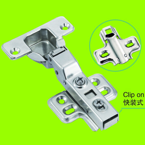 half overlay hardware stainless steel clip on hinges