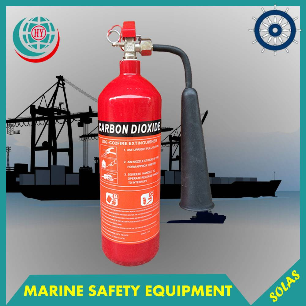 4.5kg CO2 Fire Extinguisher With Empty Cylinders