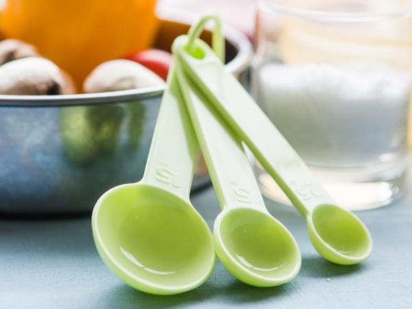 baby product Eco-friendly cornstarch measuring spoon