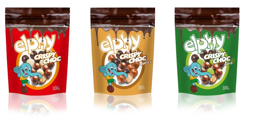 Elphy Crispy Chocolate Dragee