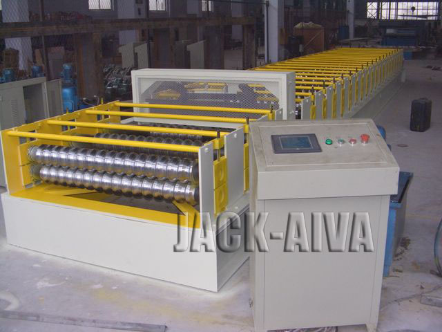 Trapezoidal & Glazed tiled type roll forming machines