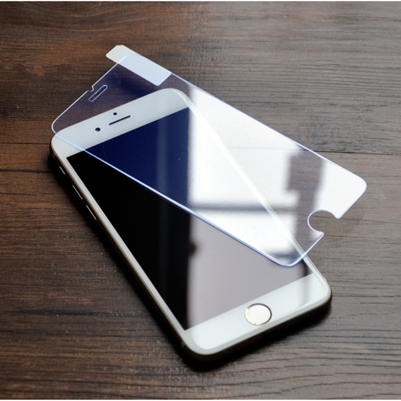 Hot Sale 0.3 mm 9H Hardness 2.5D Premium Tempered Glass Screen Protector for iPhone 6 6S 7 Plus