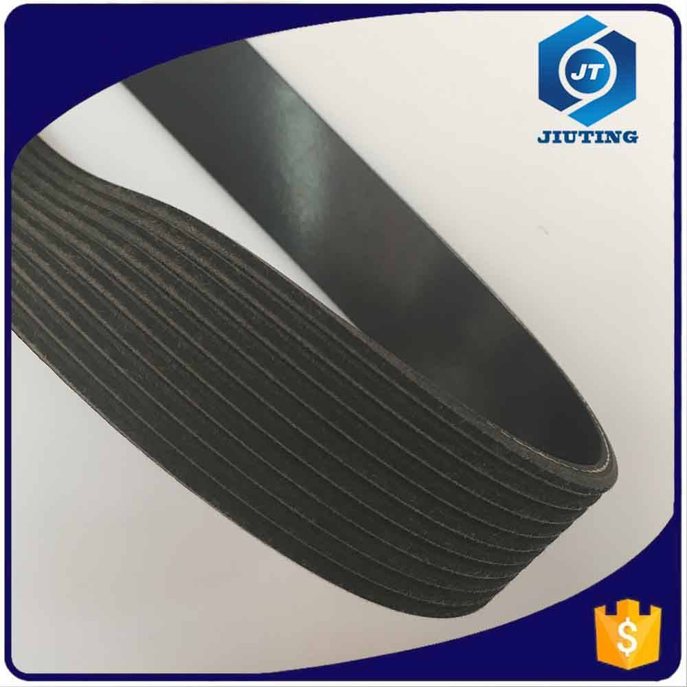 Best quality guarantee easy to operate v PK ribbed conveyor belt