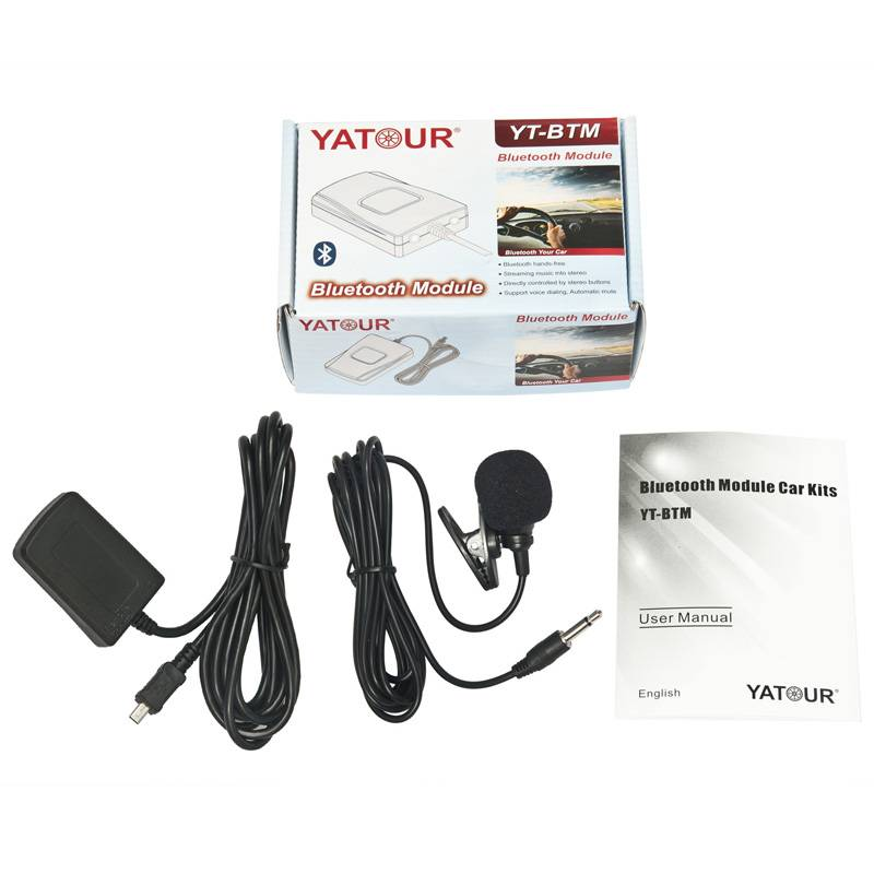 Yatour Bluetooth module>Support yatour product Phone call hand free