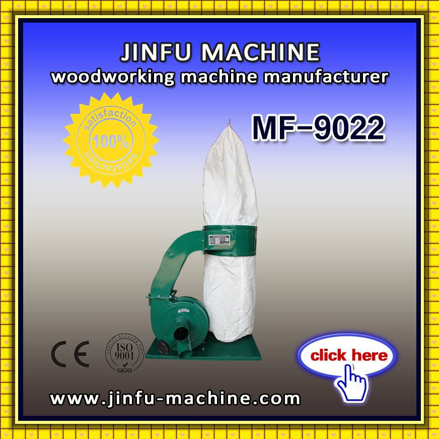 JINFU MF9022 Single bag industrial bag type wood dust collector for cnc router