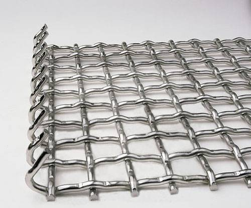 Anping Galvanized /Stainless Steel Crimped Wire Mesh