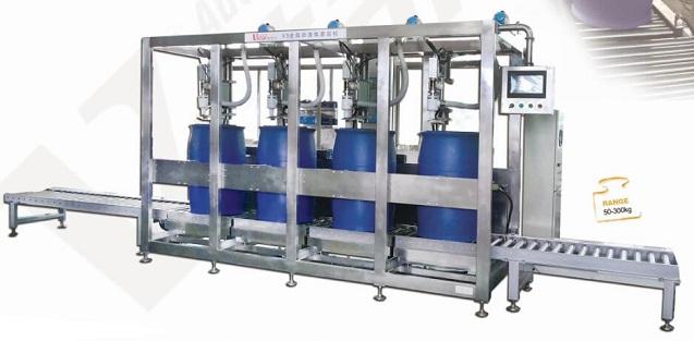 200L Automatic Sulfuric acid Liquid Filling Machine