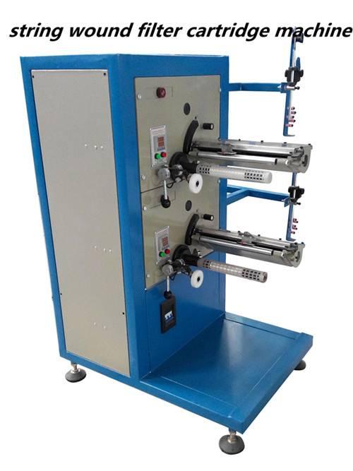PP Sting Wound Filter Cartridge Making Machine