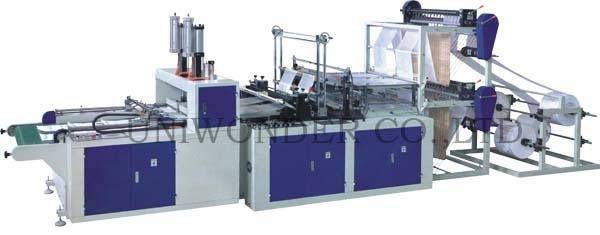 DFQ Series Full-automatic T-shirt Bag Making Machine (4 layer)