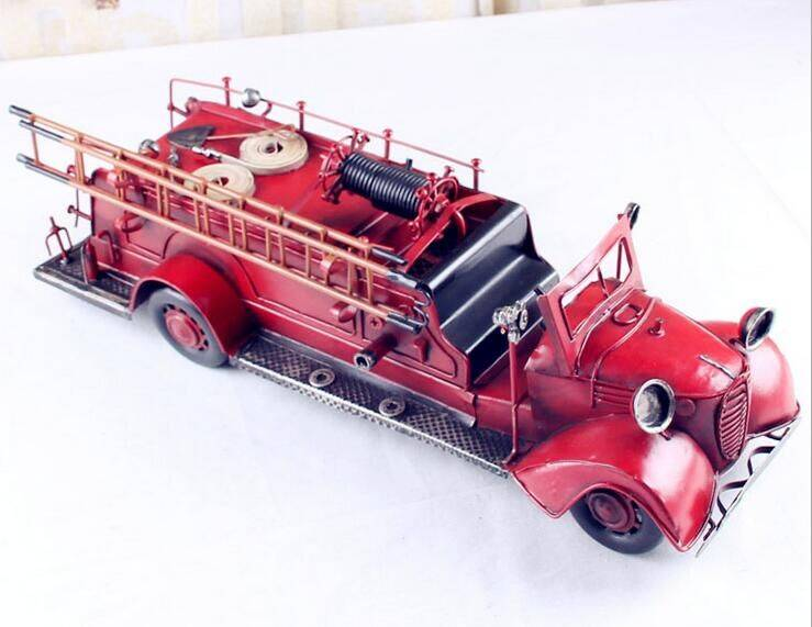 metal firetruck model
