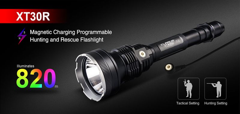 Hunting and Rescue Flashlight-Klarus XT30R