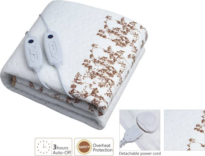 Bedding Heating Blanket with two Controller
