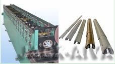 Metal Curtain Rail Roll Forming Machine